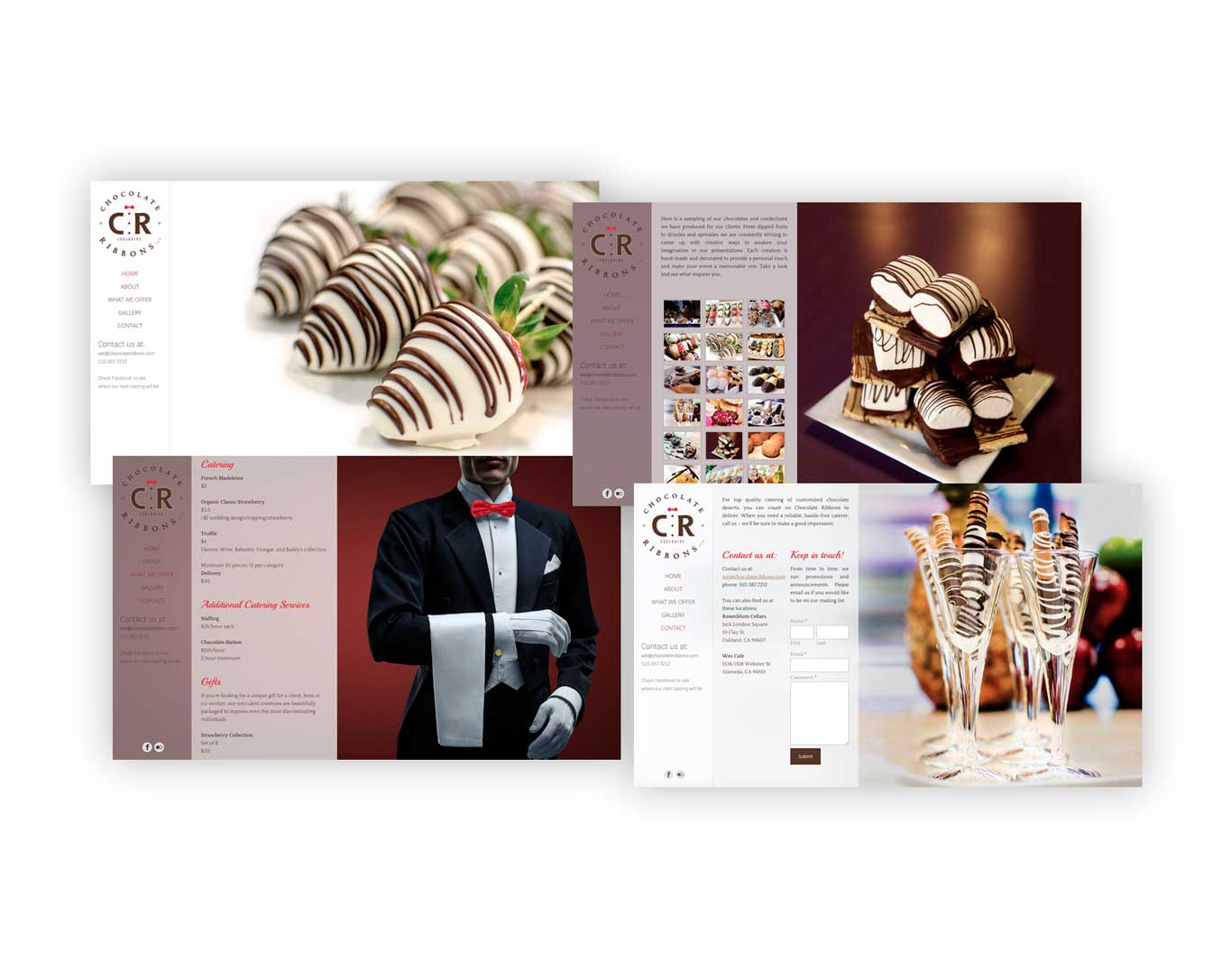 Website- Chocolate Ribbons