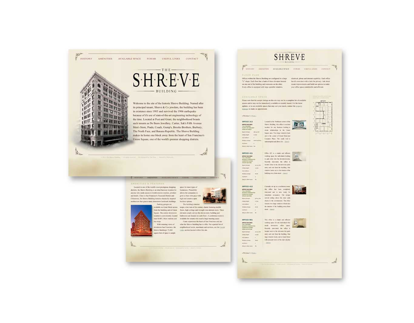 Website- Shreve Building