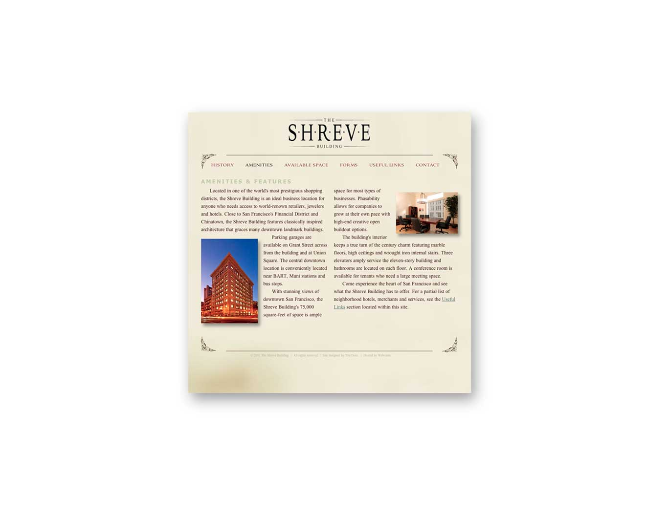 Website- Shreve Building