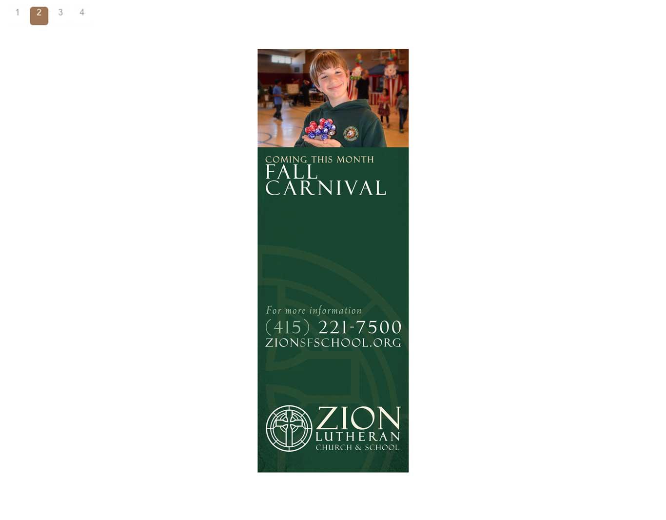 Exterior- Zion Lutheran School
