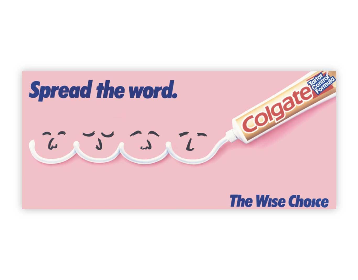 Advertising- Colgate