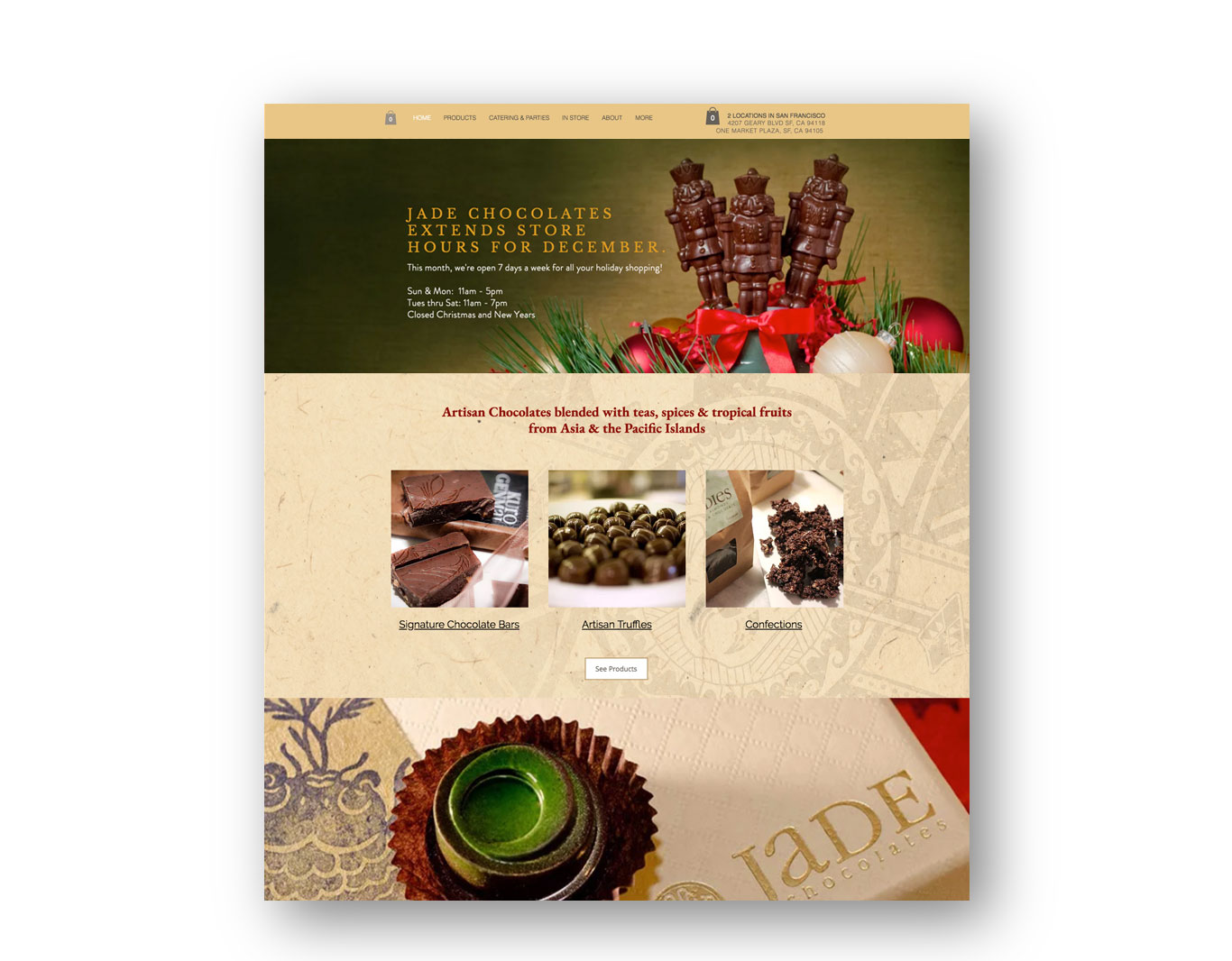 Digital Promotion- Jade Chocolates