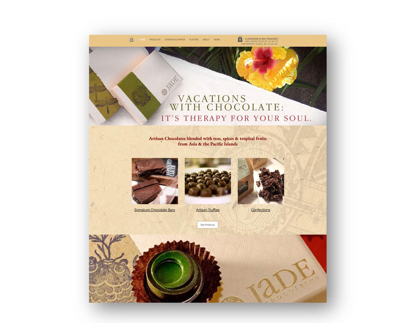 Digital Promotion- Jade Chocolates
